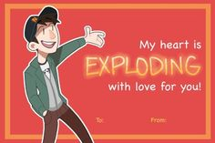 reb-chan:Sooooooo I made Valentines….I am a terrible person, yet I regret nothing. Happy early Valentines Day~~ :) you can print these out for your friends if you want! Tadashi Hamada, I Regret Nothing, Baymax, Big Hero 6, Voice Actor, Attractive Men, Disney Movies, Good Movies, My Heart