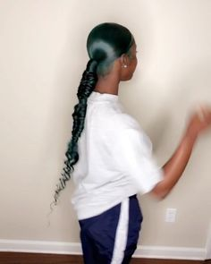 hairstyle ideas 2018 hairstyle ideas ideas for saree ideas for wedding guest hairstyle ideas ideas for 6 year old ideas over 40 hairstyle ideas Hair Ponytail Styles, Weave Ponytail Hairstyles, Sleek Ponytail, Baddie Hairstyles, Hair Styles, Side Ponytails, School Hairstyles, Everyday Hairstyles, How To Bun