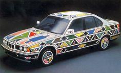 BMW car designed by Ester Mahlangu African Design, African Art, Bmw E34, African Interior, Contemporary Ceramics, Texture Art, Repeating Patterns, Art Cars, Art School