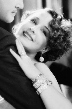 Norma Shearer in Strangers May Kiss, 1931: