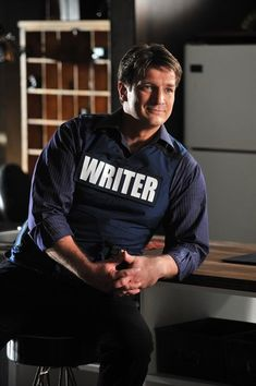 Nathon Fillion.,...Shows: Firefly and Castle among others