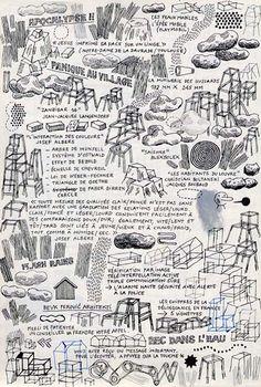 Jochen Gerner - dessins téléphoniques