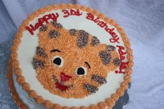 Daniel Tiger Cake From Wilton Lamb Pan Must Do This For
