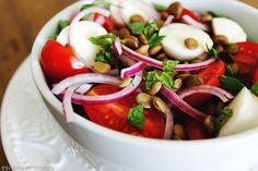 As lentilhas são o ingrediente mais tradicional na virada de ano. Que tal uma salada?