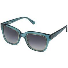 Derek Lam Spring ($320) ❤ liked on Polyvore featuring accessories, eyewear, sunglasses, ocean crystal, oakley sunglasses, clear lens glasses, lens sunglasses and oval glasses