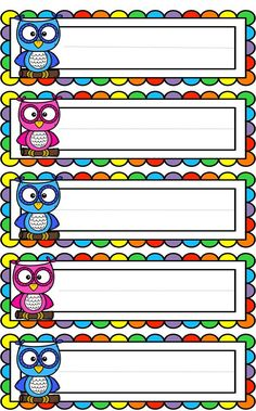 Owl Theme Classroom, Classroom Charts, Classroom Labels, Classroom Rules, Classroom Displays, School Welcome Bulletin Boards, School Border, Owl Clip Art, School Frame