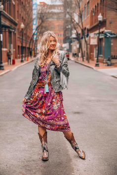 Happy Hippie girl wearing Tulle and Batiste