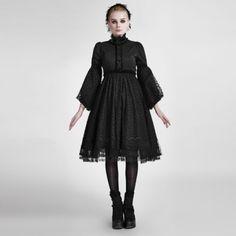 Gothic Lolita Kleid Punk Rave Victorian Steampunk Dress Nugoth Vintage WGT LQ076 in Kleidung & Accessoires, Damenmode, Kleider   eBay