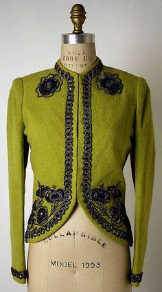 Schiaparelli Jacket - 1938 - by Elsa Schiaparelli - @~ Mlle