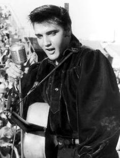 Elvis Presley in Tupelo in 1956