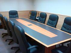 David Lane Office Furniture High Pressure Laminate Table With