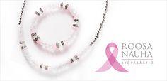 Cailap Roosa nauha-kampanja Pendant Necklace, Pink, Jewelry, Jewlery, Jewerly, Schmuck, Jewels, Jewelery, Pink Hair