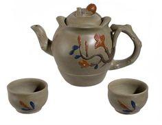 Yixing Teapot Ms.flower set 18oz