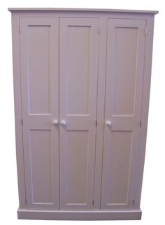 3 Door Hall / Utility Room / Cloak Room Coat & Shoe Storage Cupboard