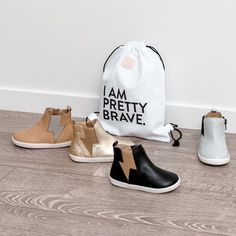 PRETTY BRAVE ® - New Zealand designed, trendy leather shoes, sandals and boots for baby and toddler. Home of the sellout Roundabout change clutch.
