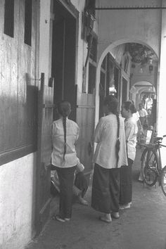 Ah Sum Che STANDING AT FIVE-FOOTWAY IN CHINATOWN. 1962