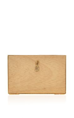 Osklen Wood Pineapple Clutch by Osklen for Preorder on Moda Operandi