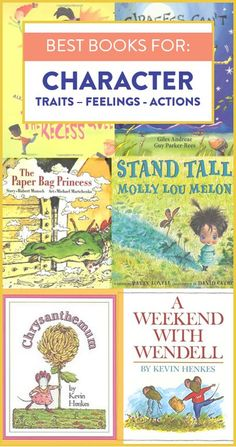These are some of my favorite mentor texts to help teach character traits. We read each of these picture books when learning about how a character acts and feels and what that says about them. Head over to the post to read exactly how I use each book!