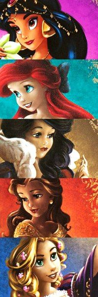 princess:they all look amazing here and though im biased to Ariel and Rapunzel, I have to say that Ariel and snow white are so breathtakingly beautiful in this fan art. .. <3