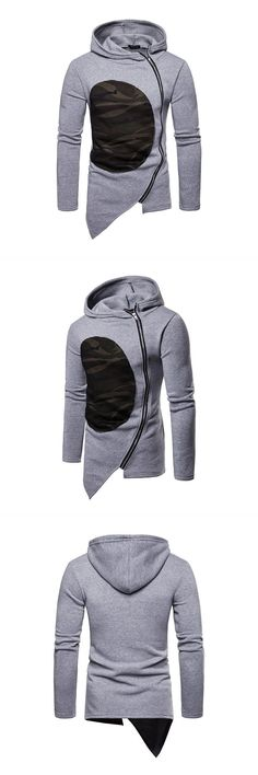 Sweatwater Men Long Sleeve Casual Warm Hooded Pullover Pocket Sweatshirts