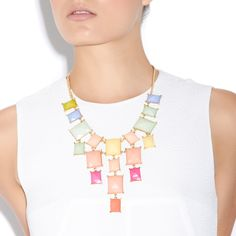 Pops of Color necklace