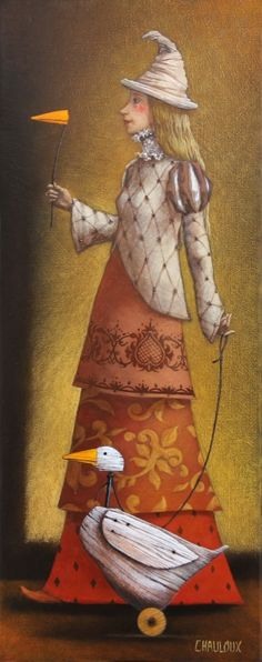 THE LADY AND THE GOOSE BY CATHERINE CHAULOUX