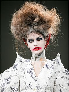 Completely Insane Hair & Makeup Looks Designers Are Sending Down the Runways