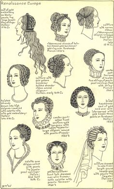 Renaissance hairstyles for women weren't how we normally would wear them today, after doing further research the women would supposed to have long hair if they were in a family of royalty to show off that power. The hair must have also been wore withe braids or some kind of flower or hair piece to make the hair look fuller and beautiful.