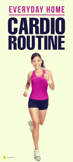 Burn excess calories & keep your metabolism fit with these easy to do cardio exercises at home. Given here are the best cardio workouts you ... #cardioexercises