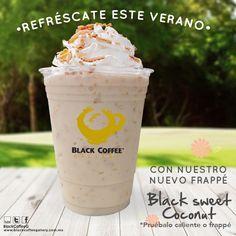 Tenemos otra bebida nueva para que disfrutes esta primavera-verano! Ven y conoce nuestra Black Sweet Coconut! Deliciosa bebida que te refrescará!