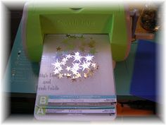 Sequins and Sequin waste Cuttlebug embossing tutorial     239