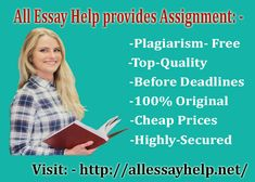 #AllEssayHelp Provides Assignment | US, UK, Canada and Australia http://allessayhelp.net/