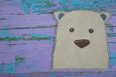 Animal iron on patch applique for clothing Bear applique for boys and girls DIY patch applique (6.00 USD) by patchesua
