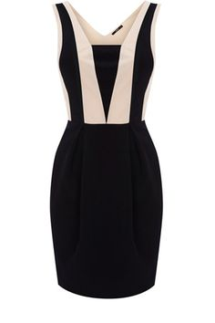 i want my sister to make a dress similar to this. black is...slimming. :))