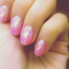ぷるぷる桜色  #nail #桜 #pink #きらん #spring by k.o.o.u.r.i