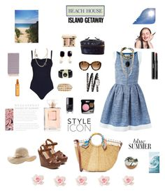 """Chic Island"" by alexandra-rataplan on Polyvore featuring mode, Pier 1 Imports, Sam Edelman, SHAN, Chinese Laundry, Chanel, PBteen, Turkish-T et Urban Decay"