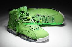 new style efdb5 bbc89 Top Nike Air Jordan 6 Mens Shoes in Full Green, cheap Jordan If you want to  look Top Nike Air Jordan 6 Mens Shoes in Full Green, you can view the  Jordan ...