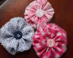 SparkleDaisy.com » Blog Archive » Fabulous Flirtatious Fabric Flower Tutorial