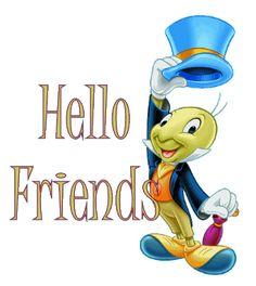 Hello to my online friends