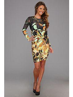 Ted Baker Tabbi Retro Square Print Dress