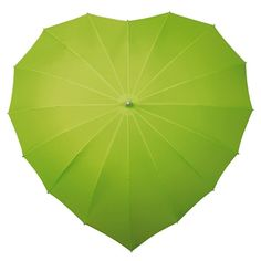 Green Heart Wedding Umbrella - Everybody loves somebody, so why not let them know by giving them one of our very special fashion umbrellas - the Heart Umbrella, perfect for Valentines Day an Anniversary or a Birthday gift. A new addition to our renowned range of fashion umbrellas, the gorgeous heart umbrella not only looks fantastic, but it is windproof as well! Approximately 78cm from end to end they have a very strong and lightweight fibreglass frame and smart Aluminium shaft complete with…