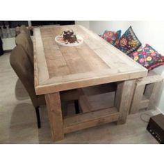 Steigerhouten tafel Rico WWW.TRENDYHOUT.NL