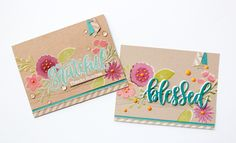 MFT Card Challenges: Tips, Tutorials & Techniques: How to Create Masked Sentiments Box Sets, Striped Background, Mft Stamps, Video Tutorials, Flower Cards, Die Cutting, Handmade Cards, Wild Flowers, Stamping