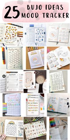 Free Bullet Journal Mood Tracker Design Step By Step - Easiest Bullet Journal Bullet Journal Beginning, Bullet Journal Daily Spread, Bullet Journal Mood Tracker Ideas, Bullet Journal Writing, Planners For College Students, Tacker, Do You Remember, New Hobbies, Understanding Yourself
