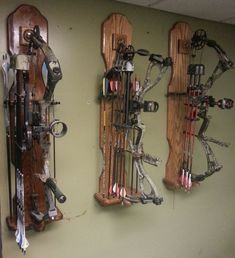 How To Build A Archery Bow Rack