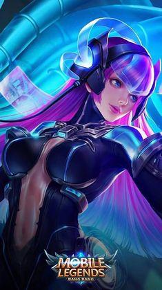 Selena Virus Heroes Assassin Mage of Skins