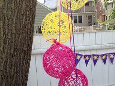 Festa Rapunzel: pendentes.