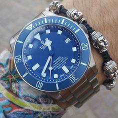 REPOST!!!  🌸🌹🌺Spring Wristgame🌺🌹🌷 With my beloved Tudor Pelagos Blue🔵🔵 the most comfortable watch in my opinion!!🎶🎶✅✅ 🔹🔷Matching with Buddha bracelet by @jahamota🔷🔹 • • • • • • • • #mensweardaily #styleinspiration #styleformen #gents #panerai #rolexwrist #submariner #tudoraholics #lovewatches #mondani #watchporn #watchcollector #watchlover #luxurious #menwithstyle #essentials #mensaccessories #dapperlydone #mensfashionpost  #mensweardaily #menslook #styleaddict #bracelet…