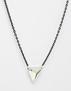Image 2 of Suzywan DELUXE Iridescent Pyramid Necklace