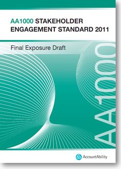 AA1000 Stakeholder Engagement Standard (AA1000SES) Stakeholder Management, Engagement Tips, Sustainable Development, Project Management, Sustainability